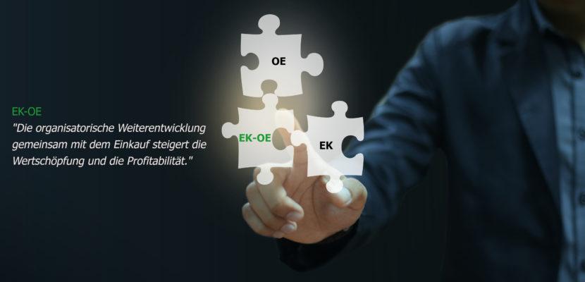 EK-OE Die organisatorische Weiterentwicklung mit dem Einkauf steigert die Wertschöpfung und die Porfitabilität
