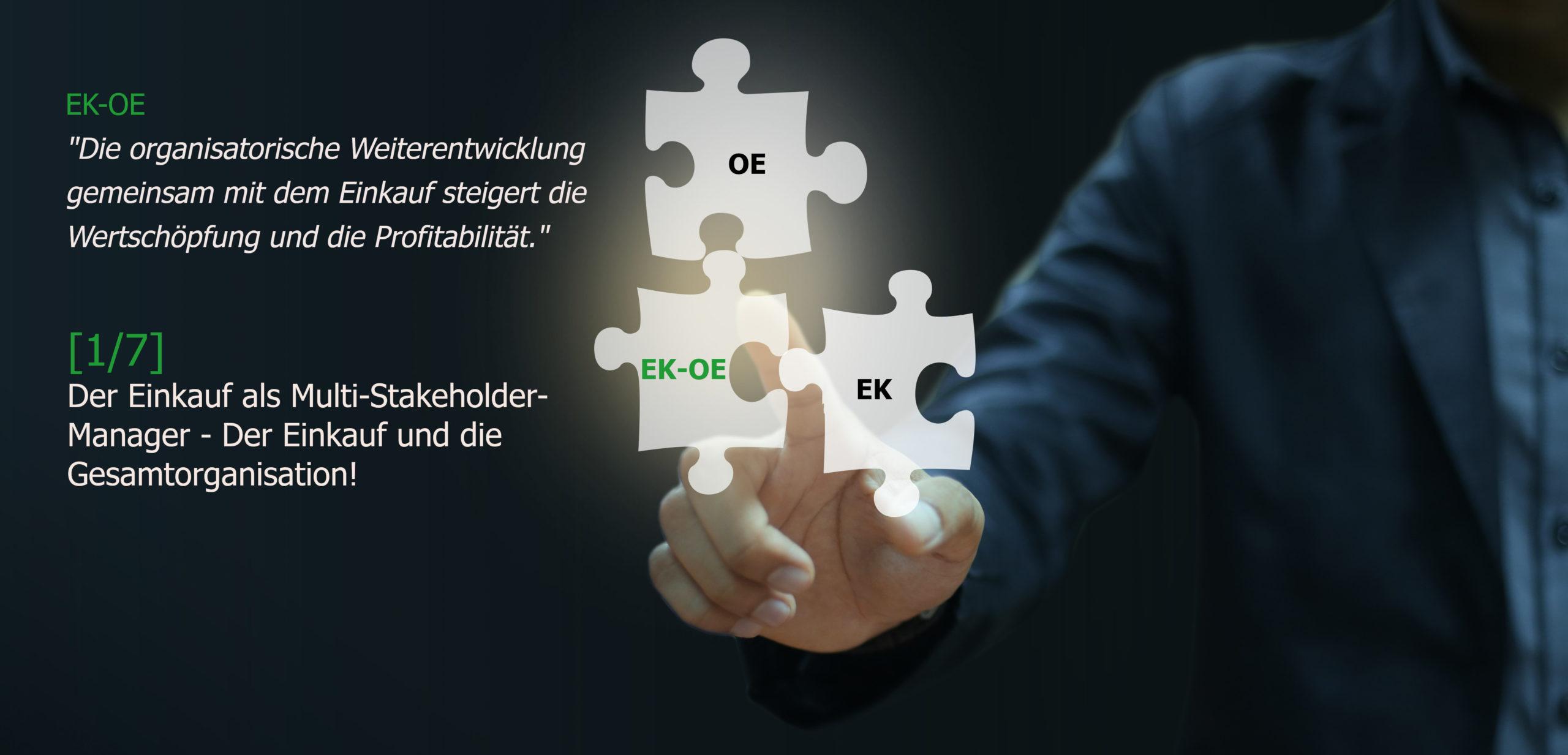 Multi-Stakeholder-Manager - Organisationsentwicklung, Einkaufsberatung, Change Coach, Coaching, Markus Kruse, Essen
