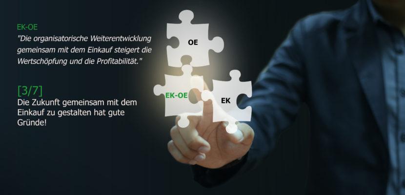 Einkauf optimieren heißt Zukunft gestalten - Organisationsentwicklung, Einkaufsberatung, Change Coach, Coaching, Markus Kruse, Essen